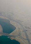 Aerial view of construction and roads in Lusail City.jpg