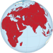 Afro-Eurasia on the globe (red).svg