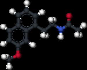 Agomelatine - Image: Agomelatine 3D ball