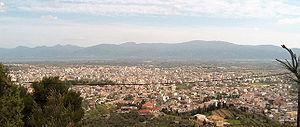 Agrinio - Panorama of Agrinio.