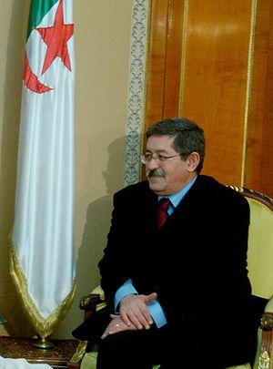 Algerian legislative election, 2012 - Image: Ahmed Ouyahia