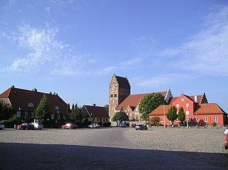 Åhus Place in Skåne, Sweden