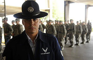United States Air Force Basic Military Training - An Air Force Training Instructor