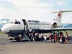 Air Niugini Fokker F28-1000 Fellowship at Lae Airport.jpg