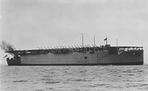 HMS Argus (I49) - Argus in the late 1920s