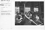 Airplanes - Manufacturing Plants - Aeroplane material manufactured for government use. Inspecting and testing Teltachometers. National Cash Register Co. plant, Dayton, O - NARA - 17340046.jpg