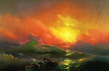 The Ninth Wave, by Ivan Aivazovsky