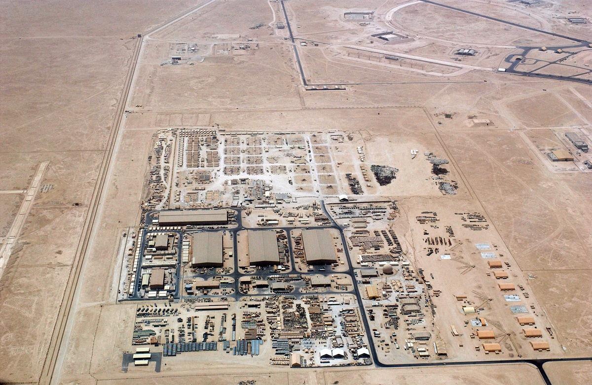 Al Udeid Air Base Wikipedia - Map us bases middle east