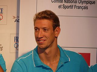 Alain Bernard French swimmer