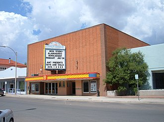 Alamogordo, New Mexico - Flickinger Center for Performing Arts is a venue for concerts and live theater