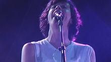 Alanis Morissette a Locarno nel 2004