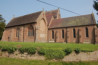Listed buildings in Alberbury with Cardeston - Image: Alberbury Church geograph.org.uk 793026