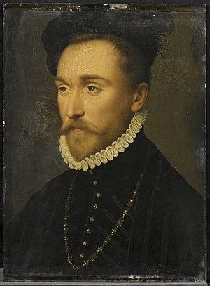 Albert de Gondi - Albert de Gondi, portrait by Jean de Court.