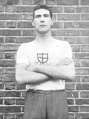 Albert Oldman - Oldman at 1908 Olympics in London