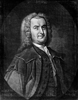 Swiss literature - Albrecht von Haller