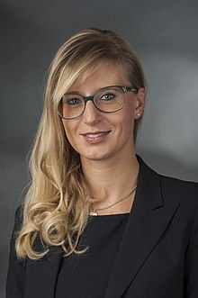 Katrin Albsteiger (2014). Bild: wikimedia.org/CC-BY 4.0/Foto-AG Gymnasium Melle
