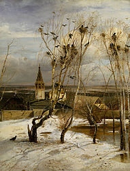 Alexei Kondratievich Savrasov: Rooks have Returned