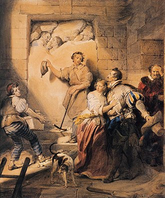 Alexandre-Évariste Fragonard - The Immured
