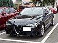 Alfa Romeo GIULIA SUPER (ABA-95220) front.jpg