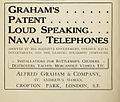 Alfred Graham & Company advertisement Brasseys 1915.jpg