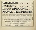 Alfred Graham & Company advertisement Brasseys 1915.jpg