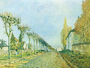 Le Chemin de la Machine, Louveciennes