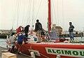 Algimouss au départ du Vendée Globe 1996-1997.jpg