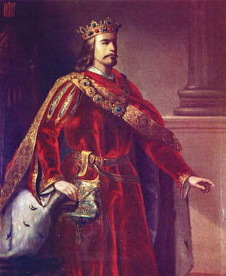 Alfonso IV of Aragon - Artistic presentation of Alfonso IV, painted by Manuel Aguirre y Monsalbe (1822–1856)