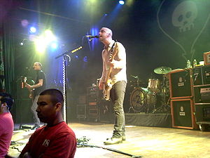 Alkaline Trio discography - Alkaline Trio performing at the House of Blues in Hollywood in support of This Addiction.