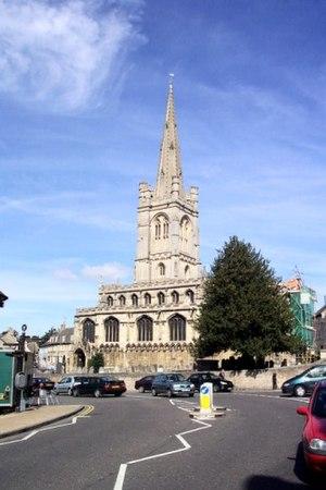 All Saints' Church, Stamford - All Saints' Church, Stamford
