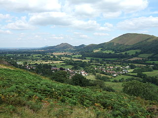 All Stretton village in the United Kingdom