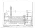 Allegheny County Courthouse and Jail, 436 Grant Street (Courthouse), 420 Ross Street (Jail), Pittsburgh, Allegheny County, PA HABS PA,2-PITBU,29- (sheet 14 of 35).png