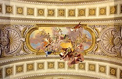 Allegory of war and Law - Prunksaal - Austrian National Library.jpg
