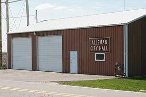 Alleman, Iowa - Alleman City Hall