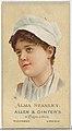 Alma Stanley, from World's Beauties, Series 2 (N27) for Allen & Ginter Cigarettes MET DP838139.jpg