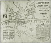 Map of Alton (1666)