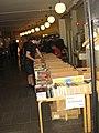 Alvarfondens antikvariat selling books (Swecon 2008).jpg