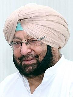 Amarinder Singh Indian politician