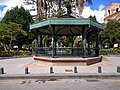 Amazing plaza..photo 2of3 catch the bus.Homero Ortega Panama Hat Museum Cuenca, Ecuador. South America.jpg