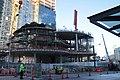 Amazon Tower II biospheres under construction (23516698382).jpg