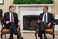 Ambassador Rick Olson with President Barack Obama.jpg