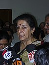 Ambika Soni - Press Conference - Science City - Kolkata 2006-07-04 5220033.JPG