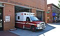 Ambulance 18 responds to emergency - DCFEMS - 2013-08-24.jpg