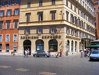 American Express office in Rome