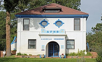 National Register of Historic Places listings in Douglas County, Colorado - Image: American Federation of Human Rights Headquarters