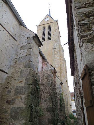 Amillis - The church in Amillis