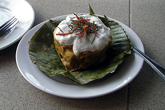 Cambodian cuisine - Amok, a popular Khmer dish