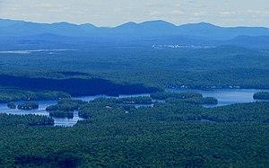 Ampersand Mountain - Image: Ampersand Mountain Lower Saranac Lake