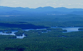 Ampersand Mountain - Image: Ampersand Mountain Lower Saranac Lake