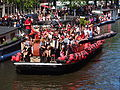 Amsterdam Gay Pride 2013 boat no30 Captain Morgan pic1.JPG
